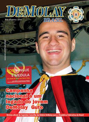Revista DeMolay Brasil - Outono/ 2010